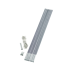 Outwell Duratec Do it yourself kit Tentaccessoires hardware 9,5mm zilver